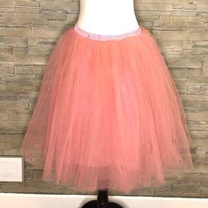 Dusty pink 6-tiered tutu